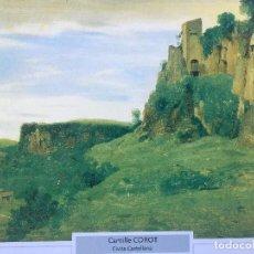 Coleccionismo: LÁMINA CIVITA CASTELLANA, CAMILLE COROT. Lote 115232639