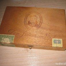 Coleccionismo: CAJA DE MADERA DE PUROS VACIA ** DON JULIAN Nº 1 **. Lote 115312527