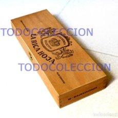 Coleccionismo: CAJA CIGARROS SELECTOS LA RICA HOJA (VACÍA). Lote 115373187
