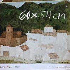 Coleccionismo: LÁMINA DEL PINTOR, ESCULTOR Y GRABADOR JOSÉ HERNÁNDEZ QUERO. Lote 115610459