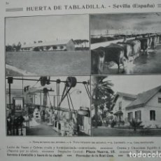 Coleccionismo: HUERTA DE TABLADILLA LECHERIA SEVILLA .AÑO 1910.17X12. Lote 115769771