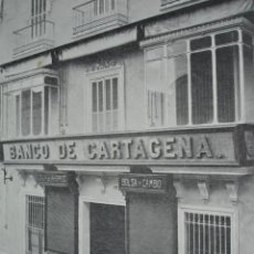 Coleccionismo: BANCO DE CARTAGENA RIOJA 18 SEVILLA .AÑO 1910.17X12. Lote 115773411