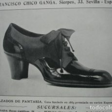 Coleccionismo: CALZADOS FRANCISCO CHICO GANGA SIERPES 33 SEVILLA .AÑO 1910.17X12. Lote 115773679