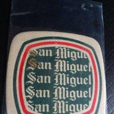Coleccionismo: ANTIGUO POSAVASOS CERVEZA SAN MIGUEL ,VER FOTOS. Lote 116406187
