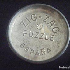 Coleccionismo: JML CENICERO ZIG ZAG PUZZLE ESPAÑA METAL CHAPA 7 - 8 CM APROXIMADAMENTE. VER FOTOS.. Lote 116899111