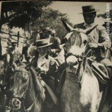 Coleccionismo: SEVILLA FERIA DE ABRIL LAMINA HUECOGRABADO AÑOS 50. Lote 116908779