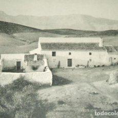 Coleccionismo: GUADIX GRANADA VIVIENDA LAMINA HUECOGRABADO AÑOS 40. Lote 116961127