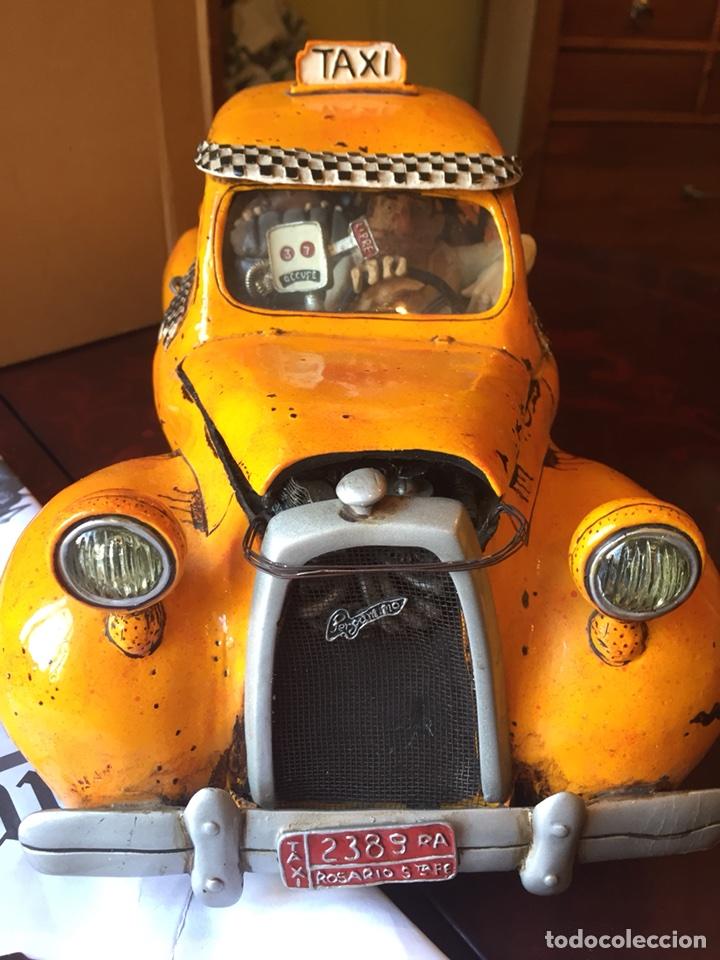 Coleccionismo: Escultura Guillermo Forchino Le taxi - Foto 2 - 117098579