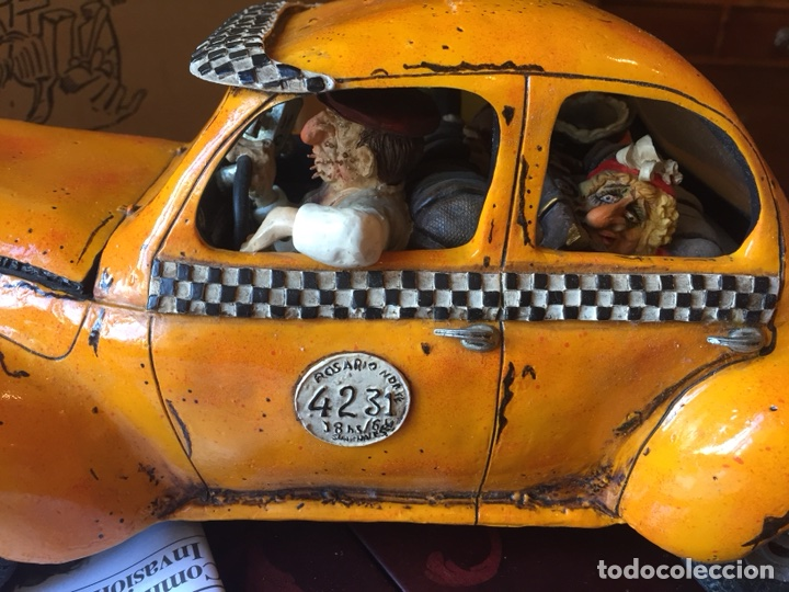 Coleccionismo: Escultura Guillermo Forchino Le taxi - Foto 3 - 117098579
