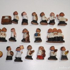 Coleccionismo: ESCOLANÍA EN TERRACOTA - MUÑECOS EN TERRACOTA. Lote 117145439