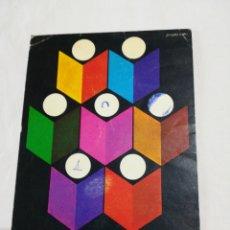 Coleccionismo: TARJETA XXXII FERIA NACIONAL DEL LIBRO MADRID. INSTITUTO DEL LIBRO ESPAÑOL. 1973. Lote 117355116