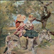 Coleccionismo: L-LAMINA-AÑO 1902-- SEGOVIA 28 X 40--ALDEANITAS DE SEGOVIA DE EMILIO SALA. Lote 117441579