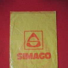 Coleccionismo: BOLSA PLÁSTICO SIMAGO, DÉCADAS 1970-1980. Lote 117621879