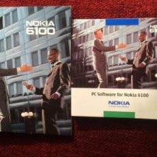 Coleccionismo: NOKIA 6100 MANUAL INSTRUCCIONES CASTELLANO Y CD. Lote 94515710