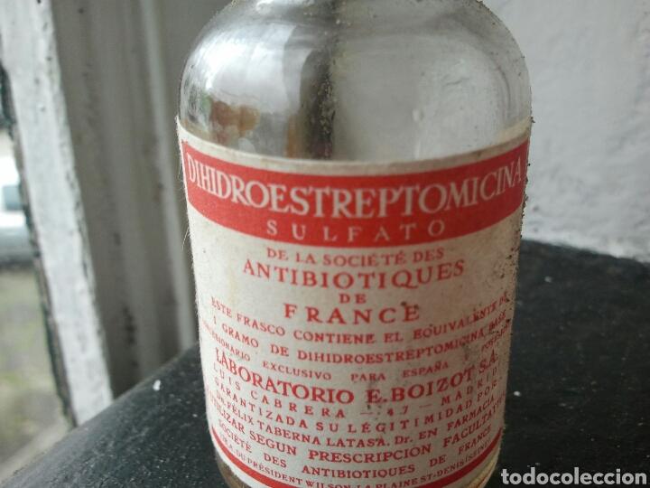Coleccionismo: Dihidroestreptomicina. Intramuscular. Medicina. Medicamento. Vacia - Foto 2 - 117943195