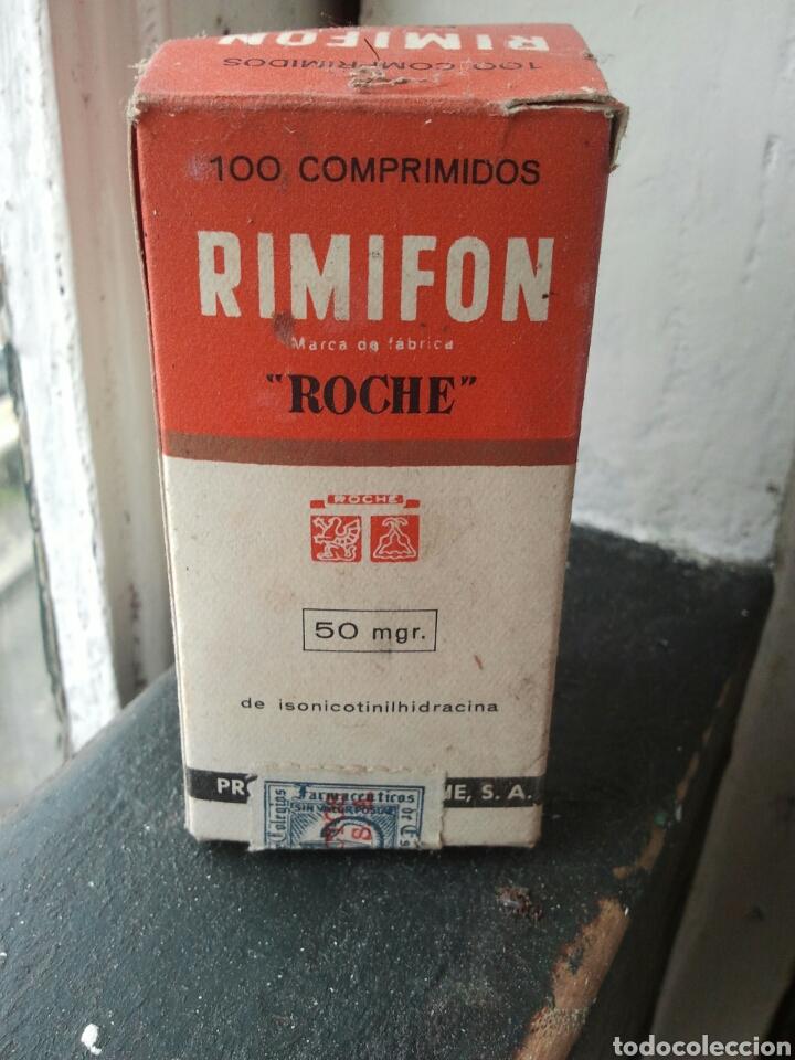 RIMIFON. FARMACO ANTITUBERCULOSO. MEDICAMENTO. MEDICINA. VACIO. (Coleccionismo - Varios)
