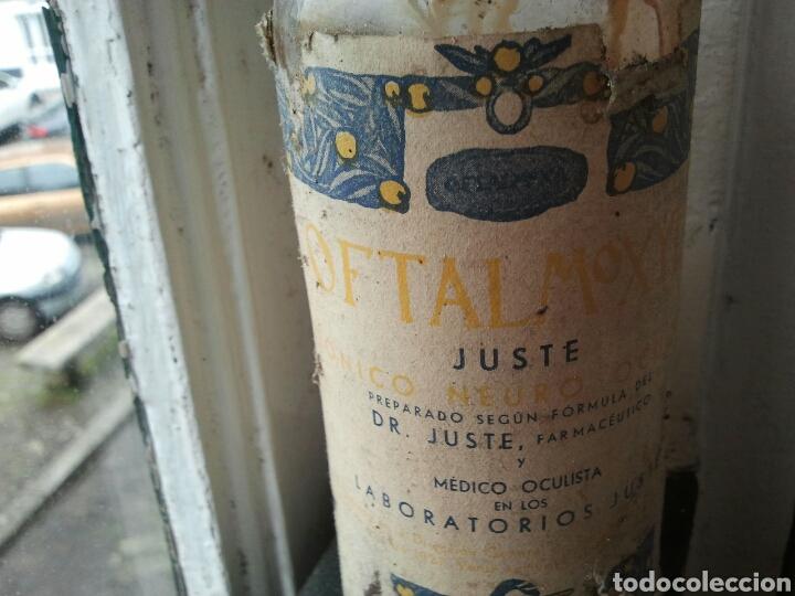 Coleccionismo: Oftalmoxyl del Dr Juste, medicamento, medicina, farmacia. vacío - Foto 2 - 117987908