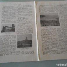 Coleccionismo: LÁMINA ESPASA - ZAP -55 - CORUÑA. Lote 118015831