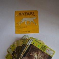 Coleccionismo: COLECCIÓN SAFARI CONOCER Y AMAR LOS ANIMALES FICHAS LÁMINAS PLANETA DEAGOSTINI 1992 DELFÍN COMÚN. Lote 118101027