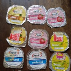 Coleccionismo: 10 TAPAS YOGURT YOPLAIT. Lote 118150904