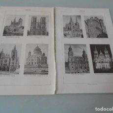 Coleccionismo: * .- CATEDRALES - LÁMINA ESPASA ZAP-110. Lote 118462135