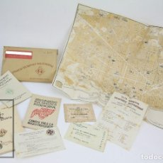 Coleccionismo: CONJUNTO DE DOCUMENTOS DEL XXXV CONGRESO EUCARÍSTICO INTERNACIONAL. BARCELONA, 1952. Lote 118556691
