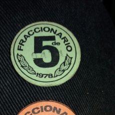Coleccionismo: DINERO FRACCIONARIO DE 5 Y 3. 1977,78. Lote 120442651