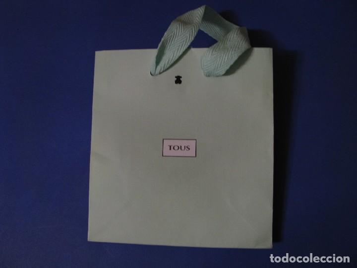 Bolsa De Clara Papel Tous14x15 CmVerde Marca gyfb7Y6