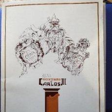 Coleccionismo: 1988 BICENTENARIO DE CARLOS III - EDITADO POR LA JUNTA MUNICIPAL DE FUENCARRAL EL PARDO. Lote 120750171