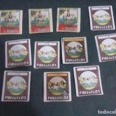 Coleccionismo: SOBRES DE TE SIN ABRIR AÑOS 60 POLLUELOS ETC . Lote 120936631
