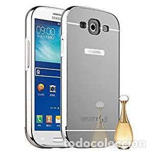 Carcasa Movil Espejo Aluminio Metal para Samsung Galaxy S3 SIII i9300/S3 Neo i9301 Color Plata segunda mano
