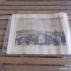 Coleccionismo: PASEO DE LA ALAMEDA LITOGRAFIA DE FRANCISCO ROJO SACADA DAGUERREOTIPO EN 1859. Lote 121129503