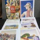 Coleccionismo: BLANCO Y NEGRO COLECCION DE DOCE JOYAS - SOBRE CON 12 LAMINAS. Lote 121254343