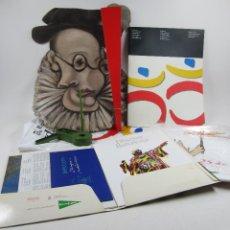 Coleccionismo: BOLSA DE COMPLEMENTOS JUEGOS OLÍMPICOS BARCELONA 1992. Lote 121967479