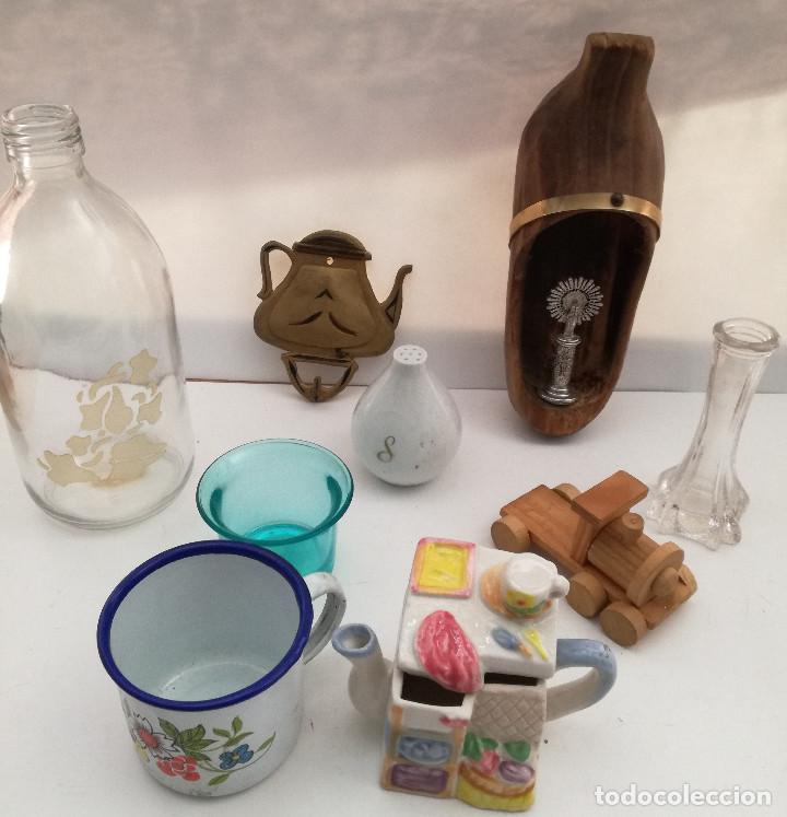 Coleccionismo: Lote 9 pequeños adornos de colección - Foto 2 - 122073751