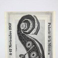 Coleccionismo: PROGRAMA DEL II FESTIVAL INTERNACIONAL JAZZ BARCELONA, NOVIEMBRE 1967- CON NOTA PRENSA MILES DAVIES. Lote 122076571