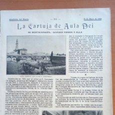 Coleccionismo: LA CARTUJA DE AULA DE. ALREDEDOR DEL MUNDO.. Lote 122179195
