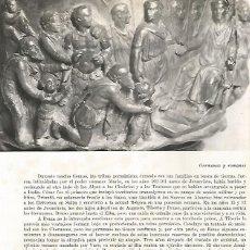 Coleccionismo: LAMINA 9890: GERMANOS PRESENTANDO SU SUMISIN A AUGUSTO. Lote 122185398
