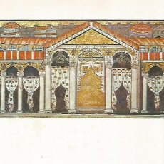 Coleccionismo: LAMINA 9892: PALACIO DE TEODORICO EL GRANDE EN RAVENA. Lote 122185472