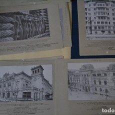 Coleccionismo: 46 LAMINAS DE EL DIARIO VASCO DE MONUMENTOS DE GUIPUZCOA. Lote 122908631