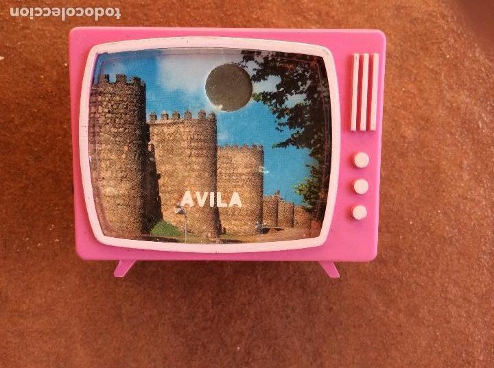 VISOR DIAPOSITIVAS VINTAGE CON FORMA DE TELEVISIÓN ; AVILA (Coleccionismo - Varios)