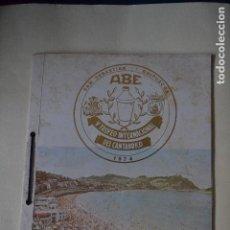 Coleccionismo: PROGRAMA DE ACTOS DEL CAMPEONATO DE COCTELERIA EN SAN SEBASTIAN DE 1974. Lote 122906631