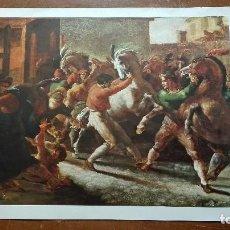 Coleccionismo: GERICAULT:LA PARTIDA,LITOGRAFÍA.. Lote 123452755
