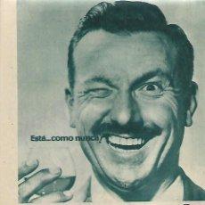 Coleccionismo: AÑO 1958 RECORTE PRENSA PUBLICIDAD COÑAC FUNDADOR MOTOR DIESEL COMERCIAL DITER. Lote 123551827