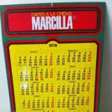Coleccionismo: CALENDARIO METÁLICO CAFÉS MARCILLA. ORIGINAL DE 1978.. Lote 124235191