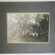 Coleccionismo: [FOTOGRAFÍA.] BANDA DE MÚSICA PRINCIPIOS DE S. XX.. Lote 124345395