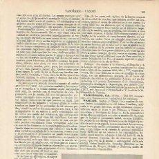 Coleccionismo: LAMINA ESPASA 5908: VILLA VASCA CERCA DE BIARRITZ. Lote 124597446