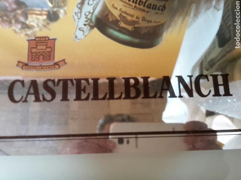 Coleccionismo: Espejo publicidad cava castellblanc años 60-70 - Foto 3 - 124841690