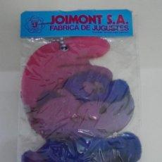 Coleccionismo: (TC-122) ANTIGUO MUÑECO PAPA PITUFO PLANO EN BOLSA PRECINTADA JOIMONT 17 CM. Lote 125106659