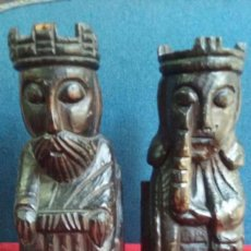 Coleccionismo: REYES CATOLICOS.TALLA MADERA.AÑOS 60 - 70.. Lote 125152079